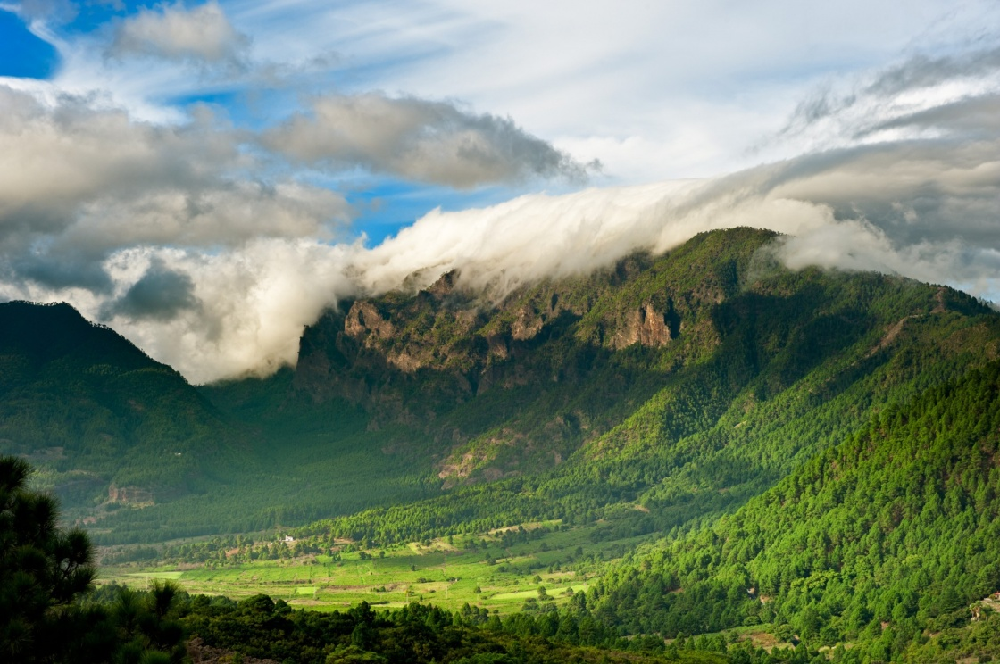 'Beautiful landscape of the mountains in La Palma, Canary Islands, Spain' - Canary Islands