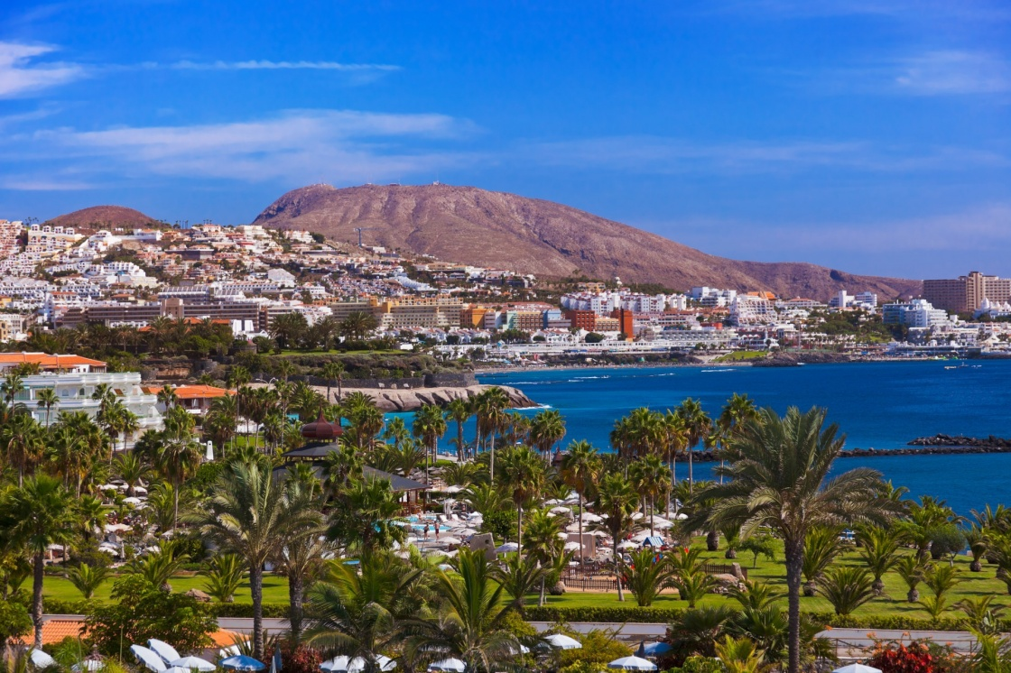 'Beach Las Americas in Tenerife island - Canary Spain' - Canary Islands