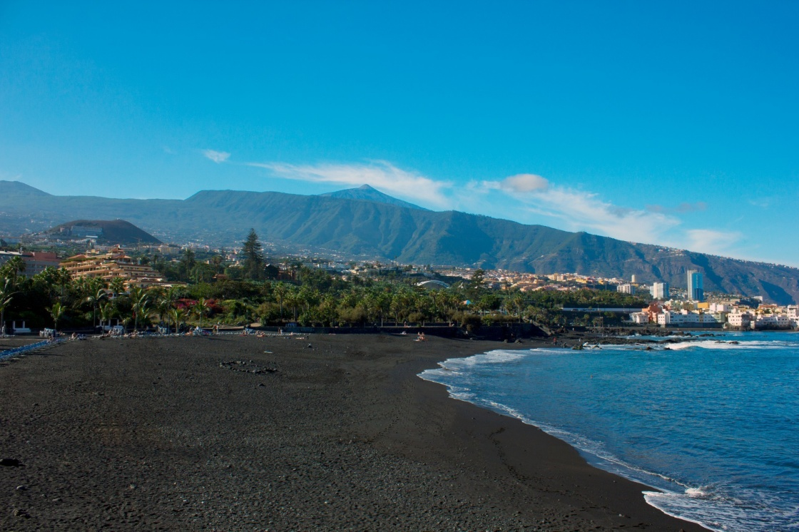The stunning beaches of the canaries - Playa jardin puerto de la cruz tenerife ...
